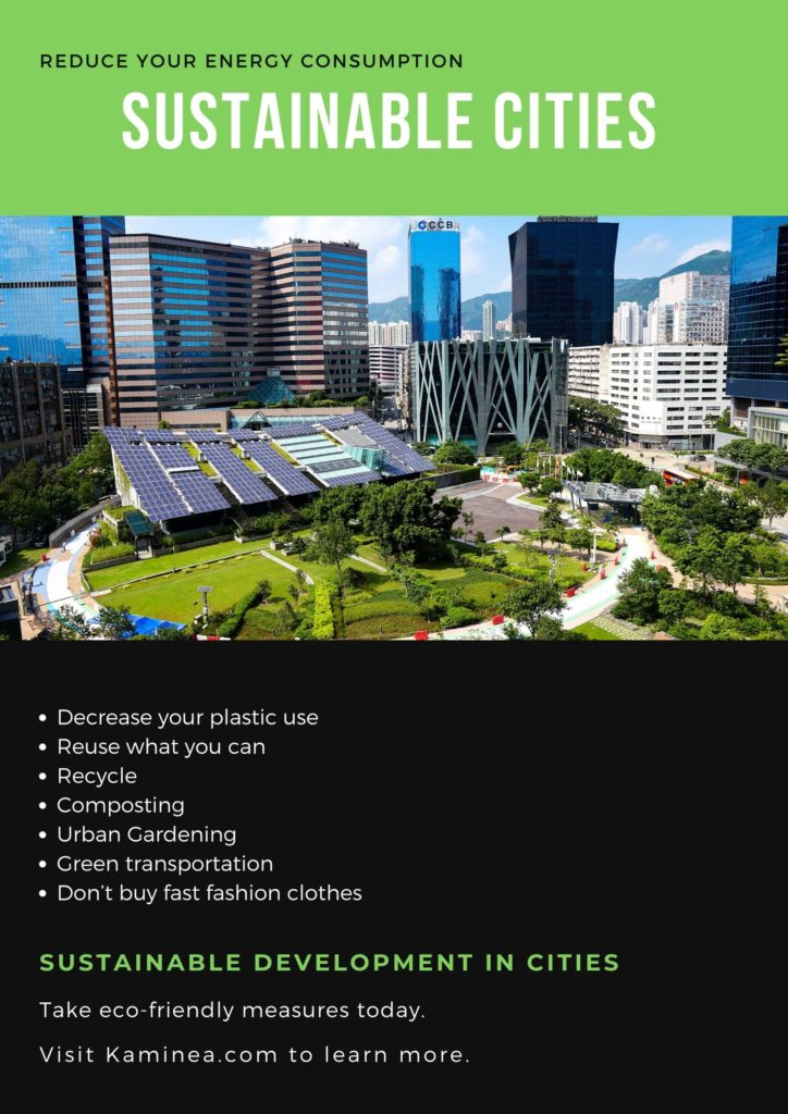 Ways to make cities more sustainable